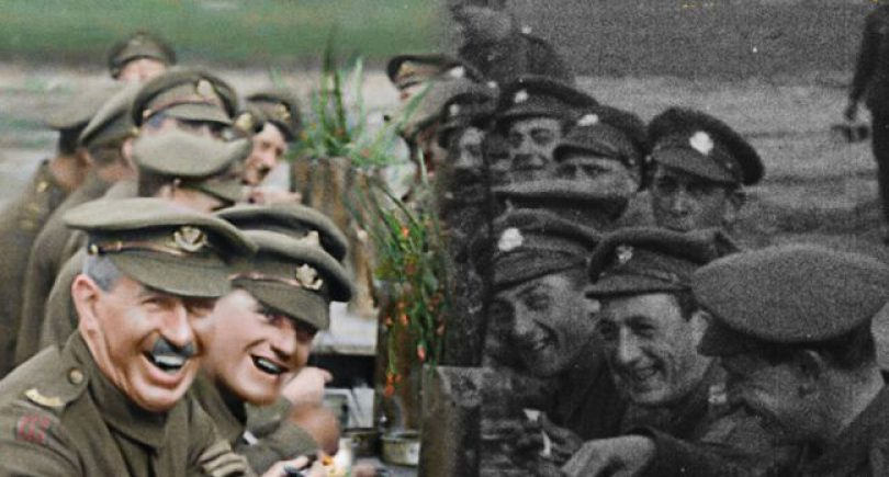 Park Road restores hours of B&W film from WW1 and completes post production on Sir Peter Jacksons 'They Shall Not Grow Old'