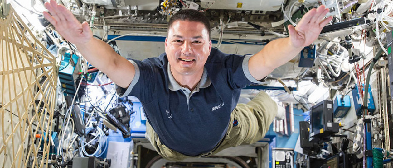 Weta Workshop at the International Space Station